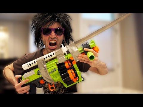 DEADLY NERF GUN MOD!
