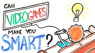 Can Video Games Make You Smarter?(Are video games good for you? SUBSCRIBE! It's Free: http://bit.ly/10kWnZ7 Follow us! (Links Below) What If You Stopped Going Outside? (and the negative ..., 2014-01-19T17:00:03.000Z)