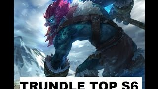 Trundle TOP S6 - Build off-tank