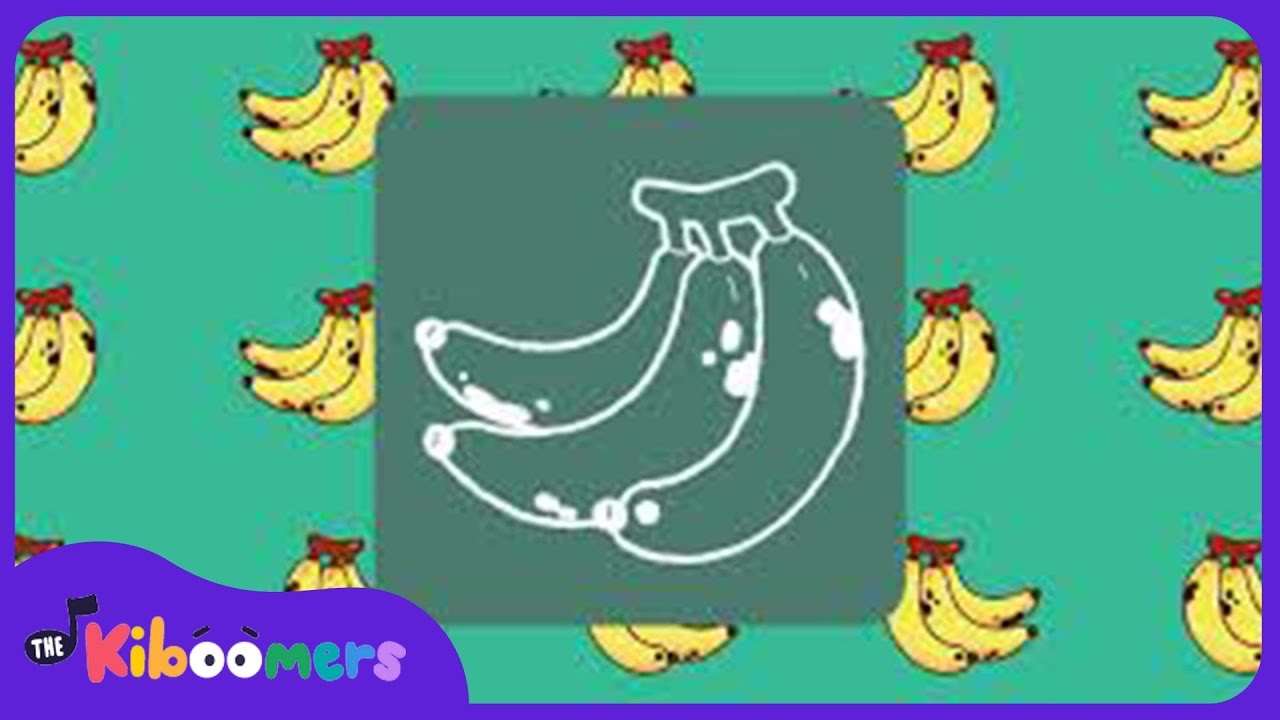 Banana First Words Baby Music for Learning | The Kiboomers