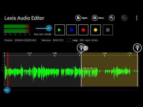 Cara Mengedit Suara, Musik Profesional Di Android Dengan Lexis Audio Editor