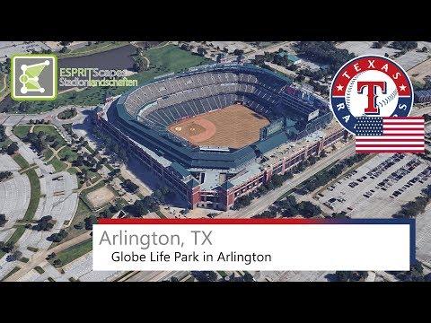 Arlington, TX  - Globe Life Park in Arlington / 2016