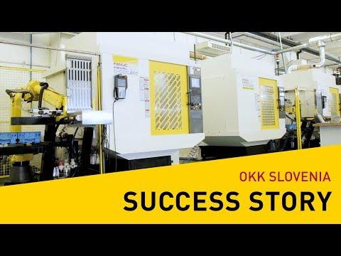 Success stories - FANUC in Slovenia at OKK (Slovenian)