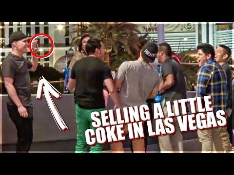 Selling A Little Coke In Las Vegas Prank