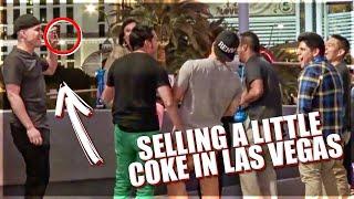 Selling Coke In Las Vegas Prank