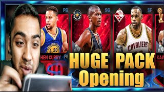 NBA LIVE Mobile Gameplay - MY BIGGEST PRO PACK OPENING!