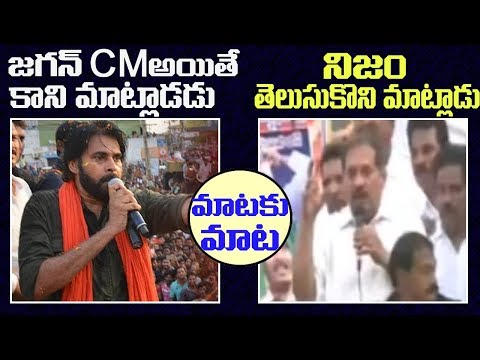 YSRCP Leader Strong Counter to Pavan Kalyan for Comments on YS Jagan 2day 2morrow