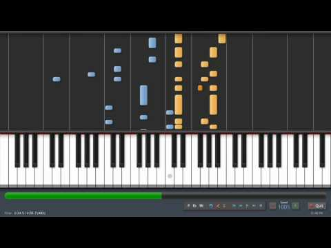 My Chemical Romance - Welcome To The Black Parade - TheFingersOfGod Version (piano tutorial)