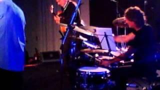 RotodruM 2010 teatro Eden ,Sandro Gibellini Guitar , Valerio Abeni Drum ,Carmelo Leotta Bass