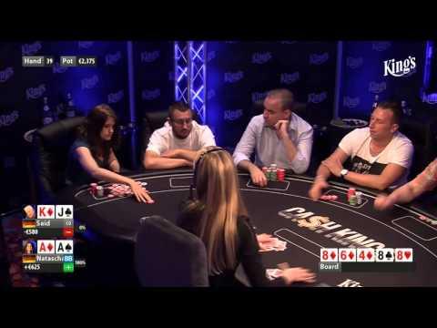 CASH KINGS E49 1/2 - DE - NLH 5/10 ante 5 - Live cash game poker show