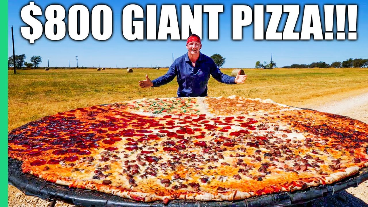 Download $5 PIZZA VS $800 PIZZA!! Everything is BIGGER in Texas!!!