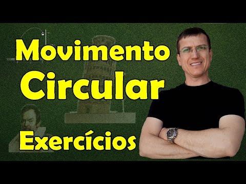 Mcu movimento circular uniforme exercicios resolvidos