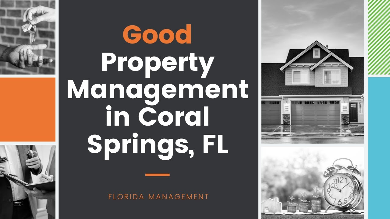 Coral Springs Property Management Services Florida Management