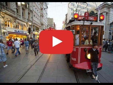 Istanbul - Taksim with Tramway ...