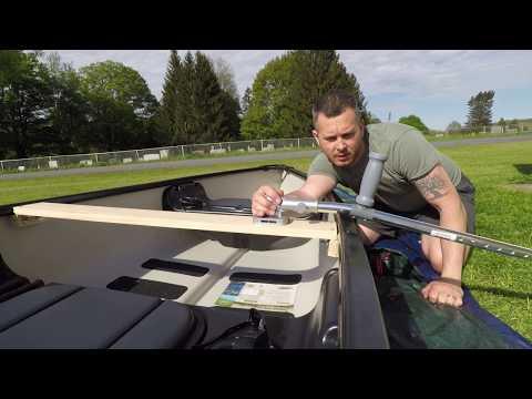 Canoe Outriggers - Stabilizers -  Bird Of Prey - DIY