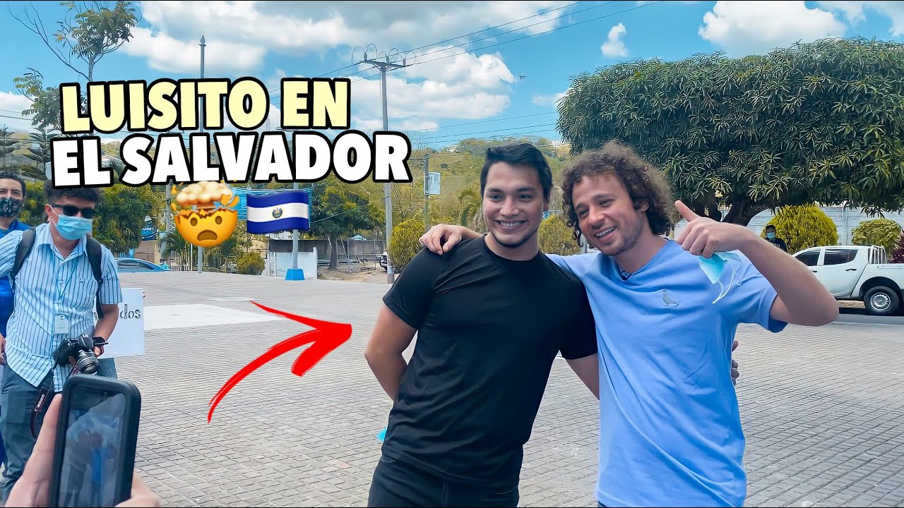 Conociendo a LUISITO COMUNICA en su visita a EL SALVADOR 🇸🇻😱
