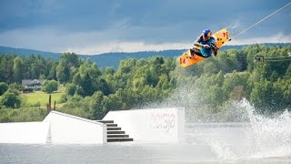 IWWF Cable Wakeboard World Championships Norway 2014 – Best of