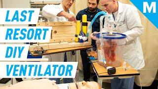 'Last Resort' DIY Ventilator Design May Aid Hospitals Amid Coronavirus Pandemic   Mashable