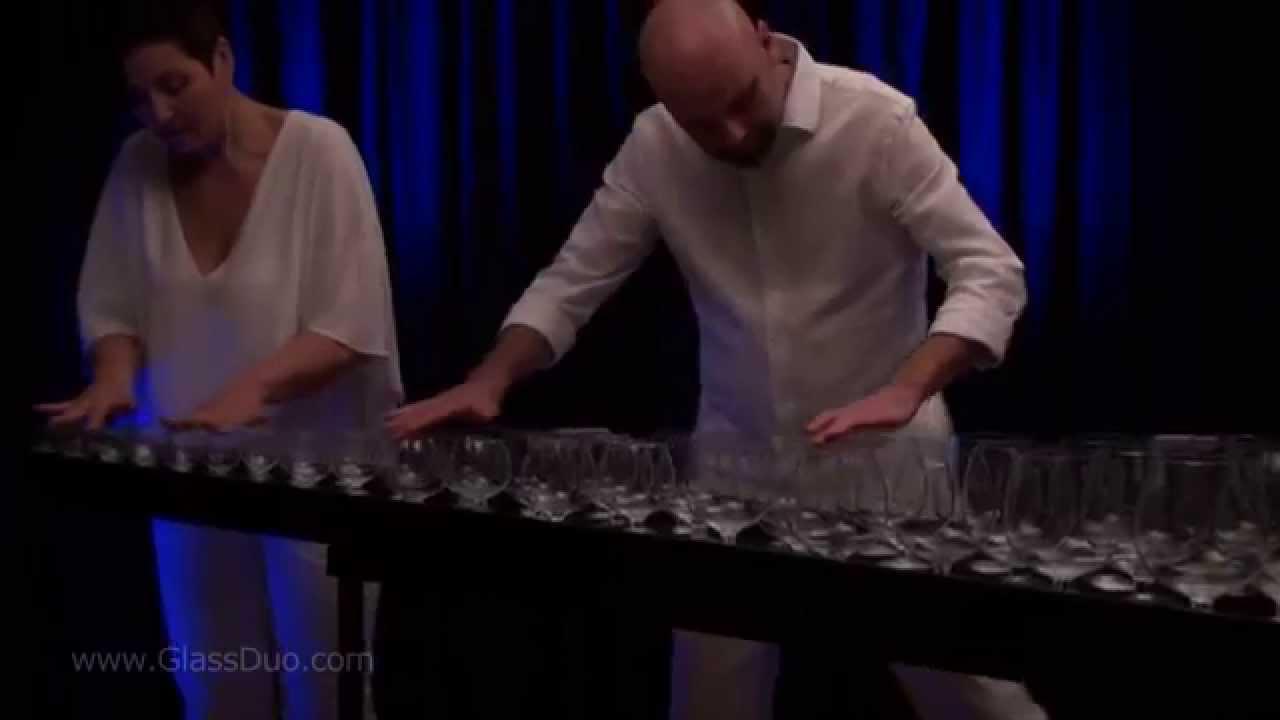 GlassDuo: First Snowflakes - Balys Dvarionas