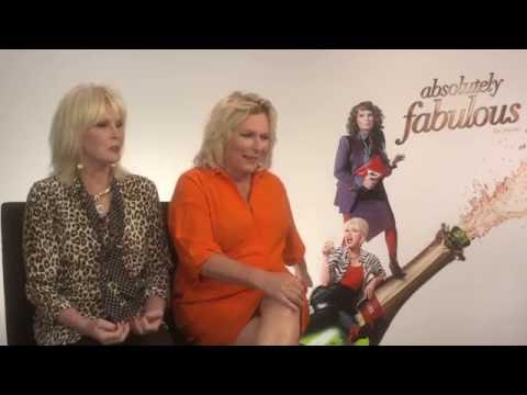 ABSOLUTELY FABULOUS Interview: Jennifer Saunders and Joanna Lumley