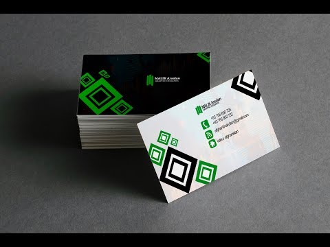 Business card design in photoshop  tutorial | Learn Photoshop/2019 thumbnail