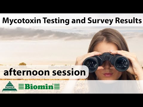 [Webinar] Mycotoxin Testing and Survey Results (afternoon session)