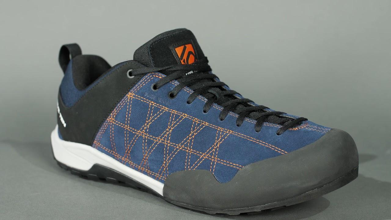 7a0450b9a33 FIVE TEN Guide Tennie Womens Hiking and Approach Shoes - Grey Fushsia