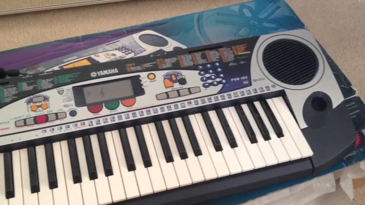 Yamaha portatone psr 160 youtube for Yamaha portatone keyboard