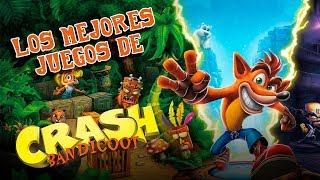 Los 5 Mejores Juegos de Crash Bandicoot