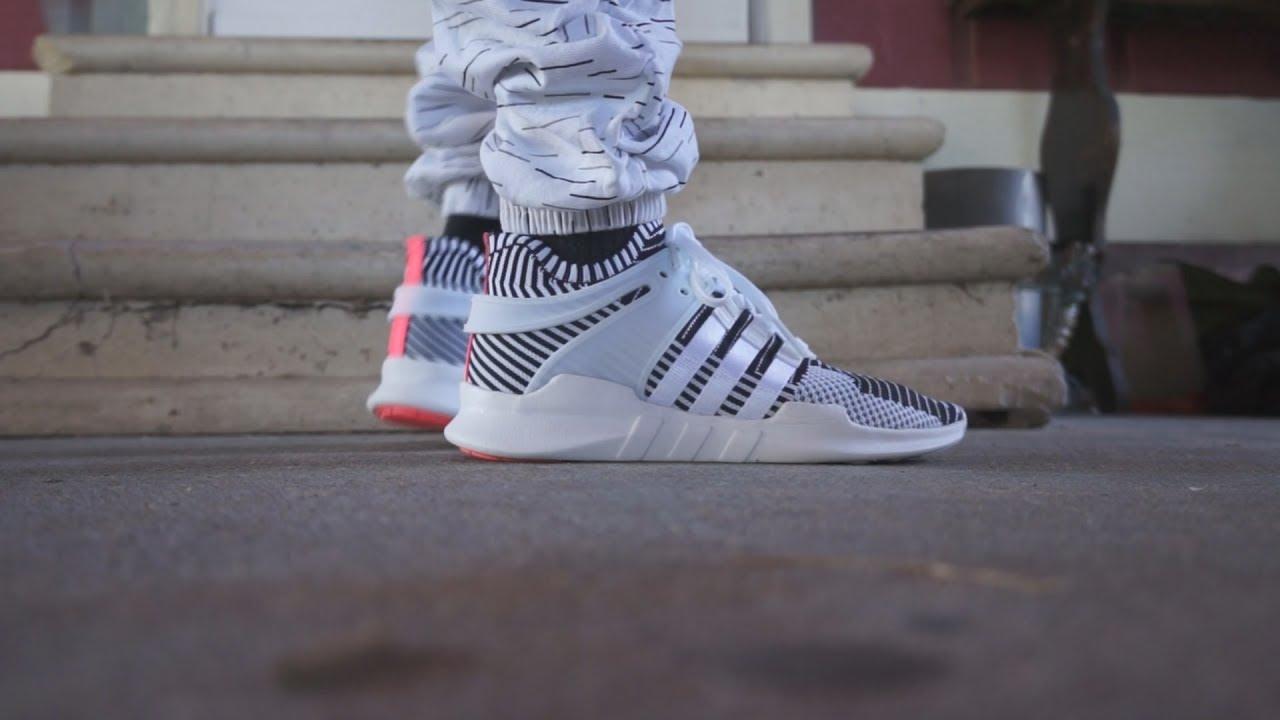 buy online 93a73 1e564 Adidas EQT Support ADV PK UNBOXINGREVIEWON FOOT
