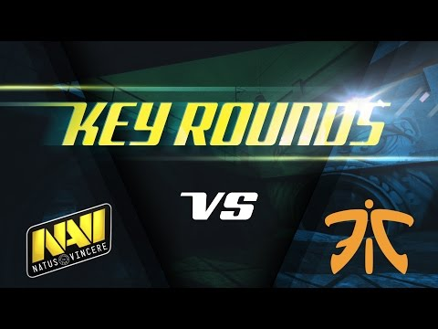 Key rounds: Na`Vi vs fnatic on Overpass @ SL i-League StarSeries S3 (ENG SUBS)