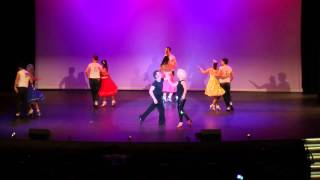 Salsa Team - JRDA SHOW 2013 - 'A Night at the Movies'