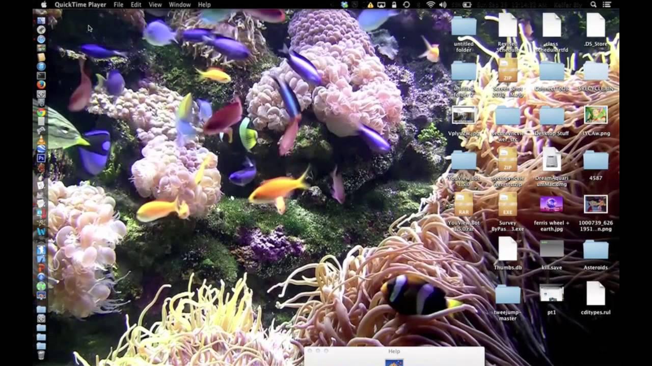 virtual aquarium screensaver for mac