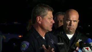 Press conference on San Bernardino mass shooting