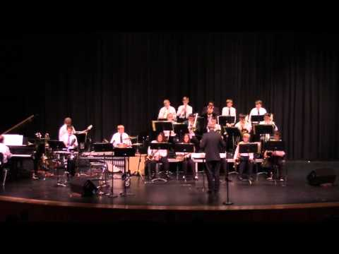 Tanya Darby with Maize Middle School Jazz Band - Smooth - Rob Thomas / Shur 11/21/2015