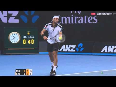 Roger Federer vs Nikoloz Basilashvili Highlights ᴴᴰ Australian Open 2016