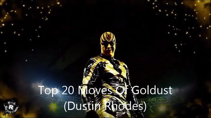 top 20 moves of goldust dustin rhodes