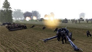 Most Realistic WII Warfare Strategy Game Mod | RobZ Realism | Men of War: Assault Squad 2 Gameplay