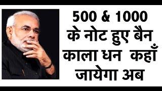 Demonetization in India- विमुद्रीकरण - 500/1000 के नोट बैन- पूरा विश्लेषण - UPSC/IAS/PSC