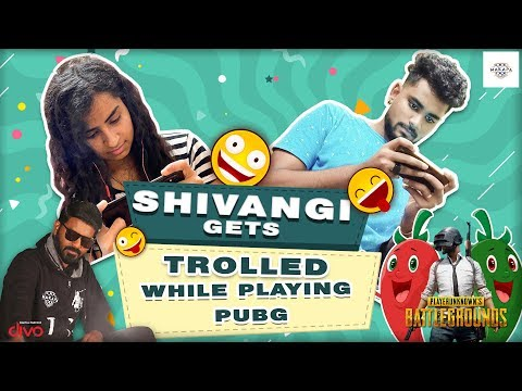 Shivangi Plays Pubg For The First Time Along With #SamVishal