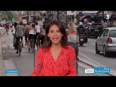 12/13 France 3 Paris Île-de-France + Air Report & Weather 20.8.2018