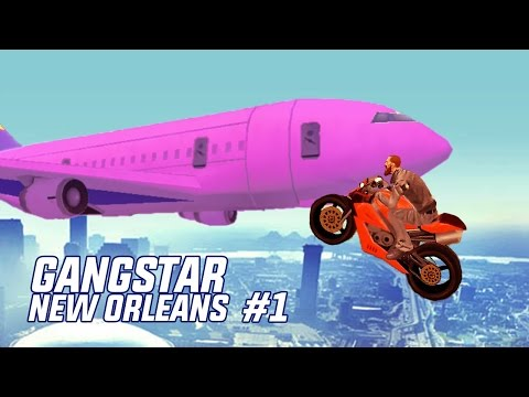 AWESOME GANGSTAR NEW ORLEANS BIKE STUNTS & FAILS #1 (Funny Moments Compilation)