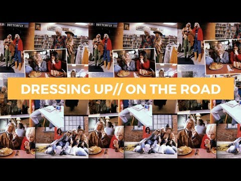 THRIFT SHOPPING ROAD TRIP// DRESSING UP ON THE ROAD