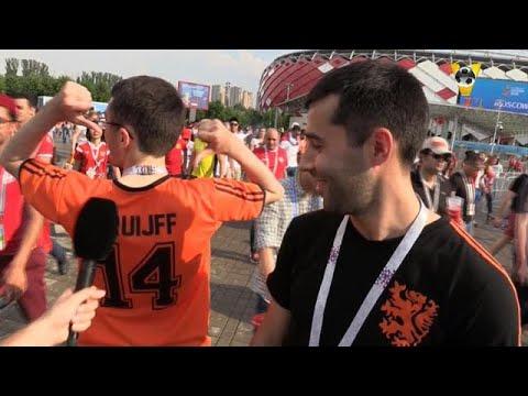 Oranje Russen verliefd op Cruijff: ''De koning van het voetbal!''