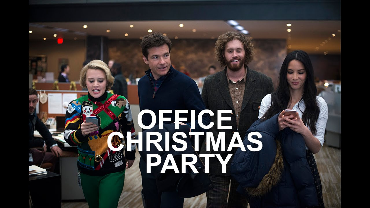 Office Christmas Party.Office Christmas Party Trailer Kate Mckinnon Jason