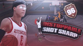 ATC TONY GOES 7/7 WITH THE BEST JUMPSHOT IN NBA 2K19! SHOT CREATING SHARP IS THE BEST BUILD ON 2K19
