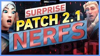 SURPRISE PATCH 2.1 - HЏGE NERF & MAP CHANGES - VALORANT