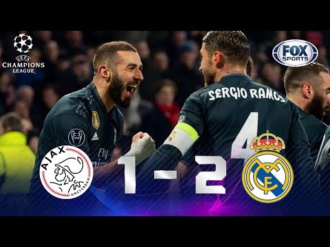 Ajax - Real Madrid [1-2] | GOLES | Octavos De Final (IDA) | UEFA Champions League