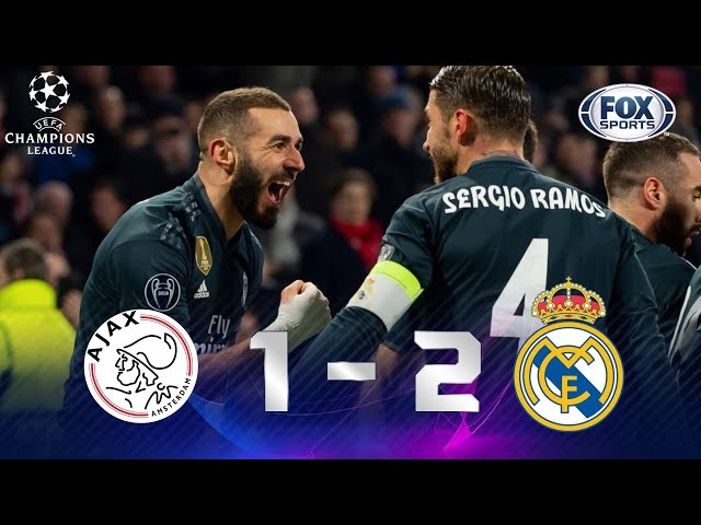 Ajax - Real Madrid [1-2]   GOLES   Octavos de final (IDA)   UEFA Champions League
