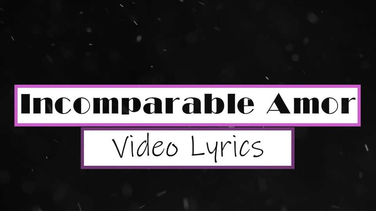 Incomparable Amor Video Lyrics | Versión PIANO• |  Ana Martínez